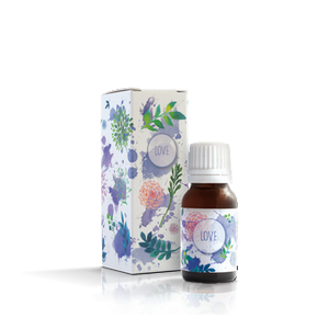 the bottle of spanish fly love on transparent background